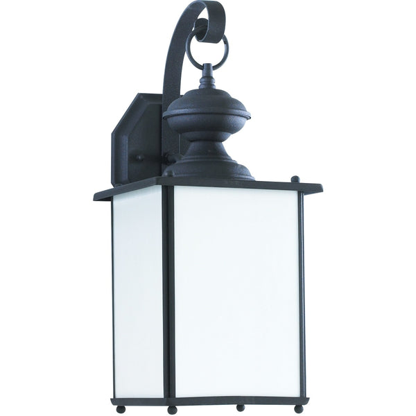 Jamestowne Black Outdoor Wall Lantern - Outdoor Wall Sconce