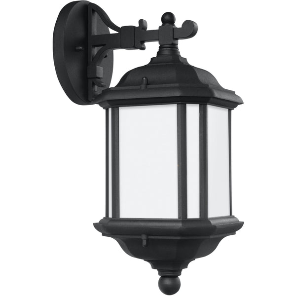 Kent Black Outdoor Wall Lantern - Outdoor Wall Sconce