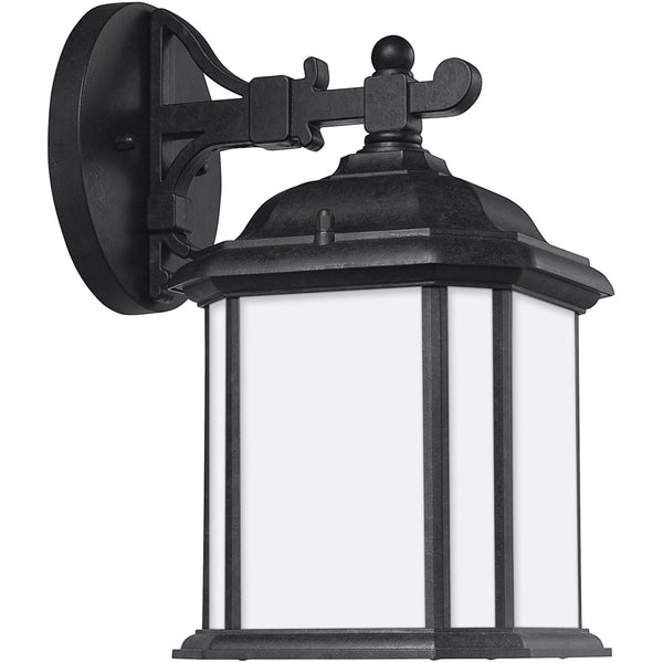 Kent Oxford Bronze LED Outdoor Wall Lantern - Outdoor Wall Sconce