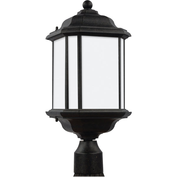 Kent Oxford Bronze Outdoor Post Lantern - Outdoor Post Lantern
