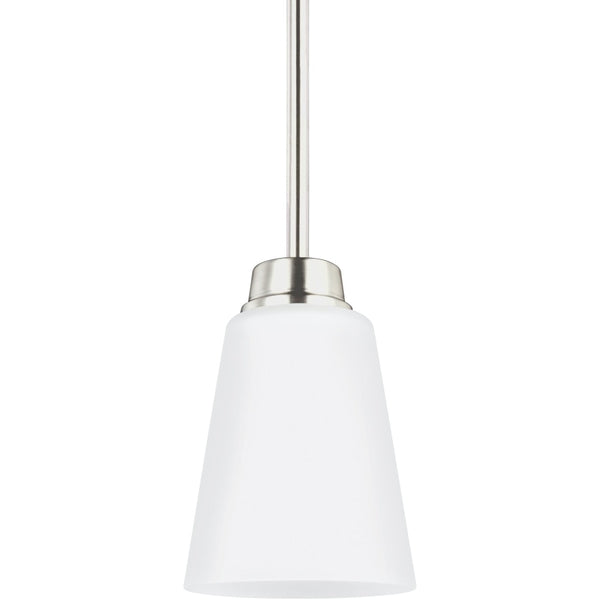 Kerrville Brushed Nickel LED Mini-Pendant - Mini-Pendants