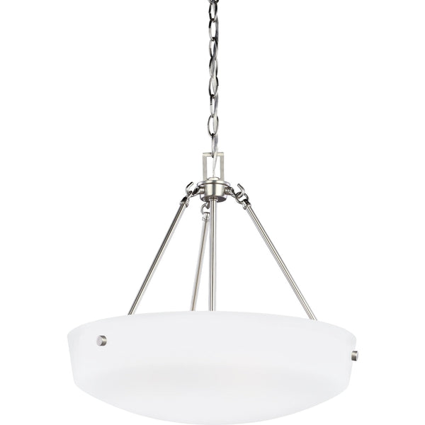 Kerrville Brushed Nickel Pendant - Pendants