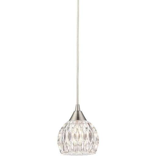 Kersey Satin Nickel Mini Pendant - Mini-Pendants