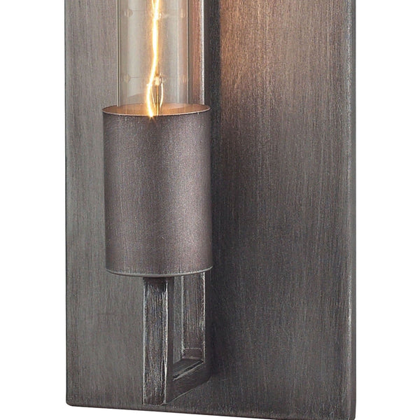 Laboratory Weathered Zinc Wall Sconce - Wall Sconce