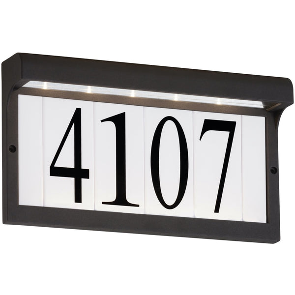 LED Address Light Black LED Address Light - Landscape Lighting