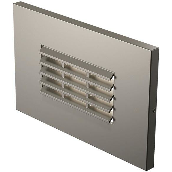 LED Step Lighting Satin Nickel LED Louver LED Step Light-849 - Landscape Lighting