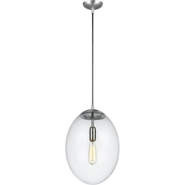 Leo Satin Aluminum LED Pendant - Pendants