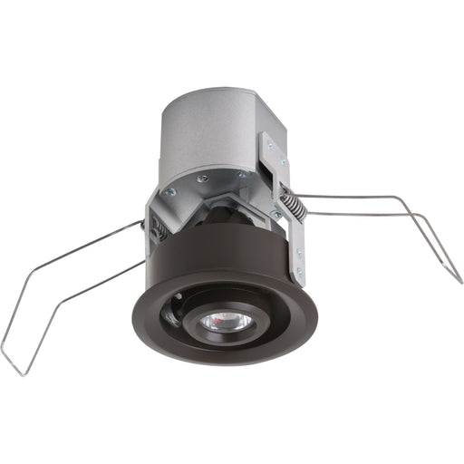Lucarne LED Niche Painted Antique Bronze LED 12V 3000K Gimbal Round Down Light-171 - Recessed