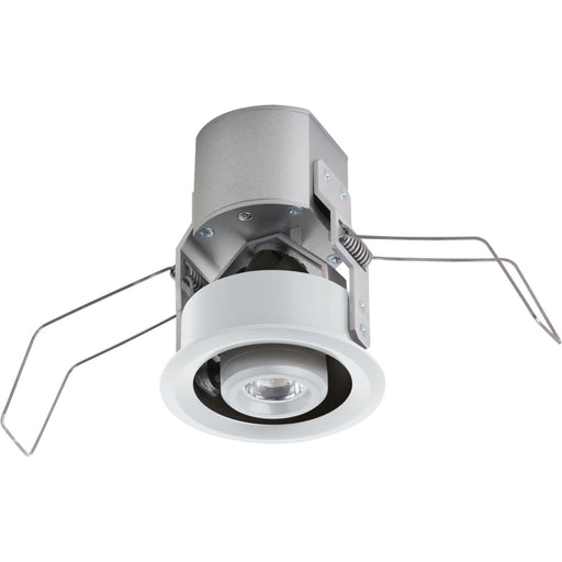 Lucarne LED Niche White LED 24V 2700K Gimbal Round Down Light-15 - Recessed