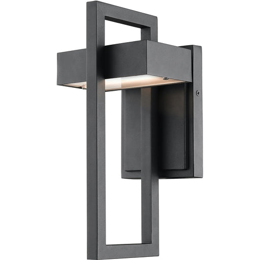 Luttrel Black LED Outdoor Wall Sconce - Outdoor Wall Sconce