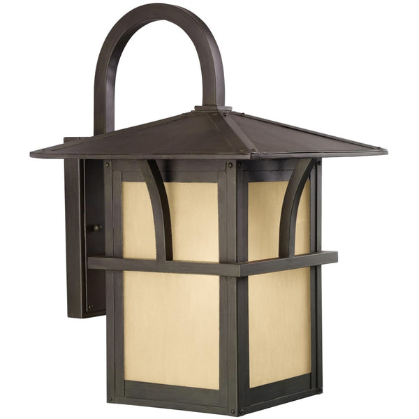 Medford Lakes Statuary Bronze LED Outdoor Wall Lantern - Outdoor Wall Sconce
