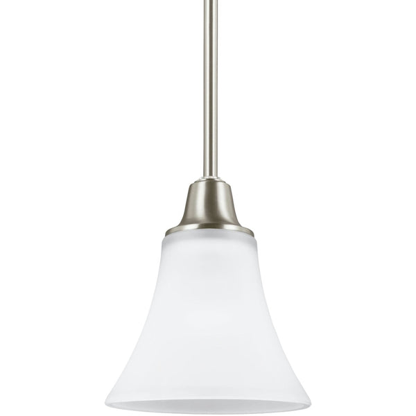 Metcalf Brushed Nickel LED Mini-Pendant - Mini-Pendants