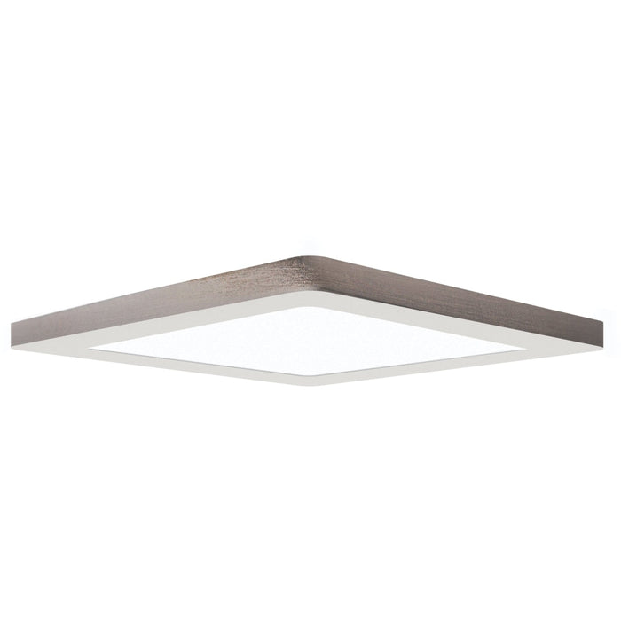 ModPLUS Brushed Steel LED FlushMount - Flushmounts