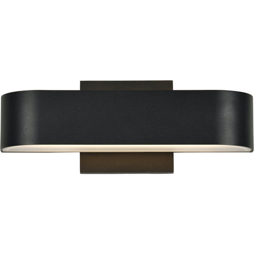 Montreal Black LED Outdoor Wall Sconce - Outdoor Wall Sconce