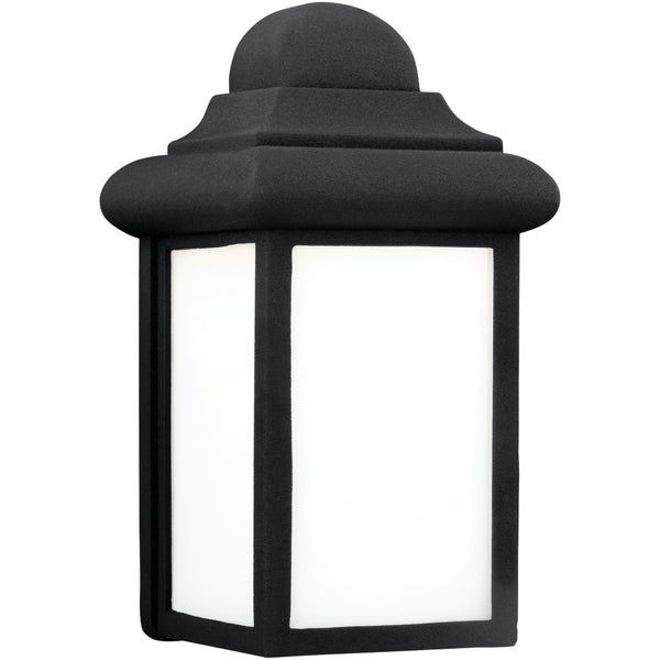 Mullberry Hill Black LED Outdoor Wall Lantern - Outdoor Wall Sconce