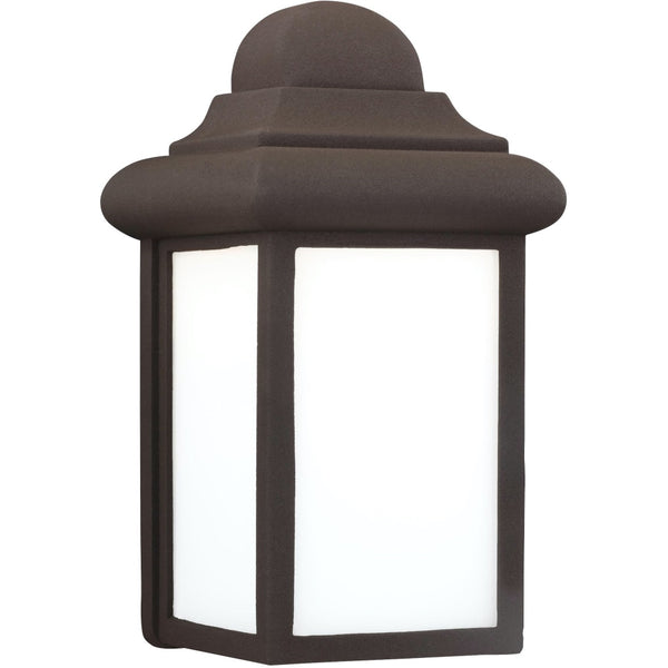 Mullberry Hill Bronze LED Outdoor Wall Lantern - Outdoor Wall Sconce