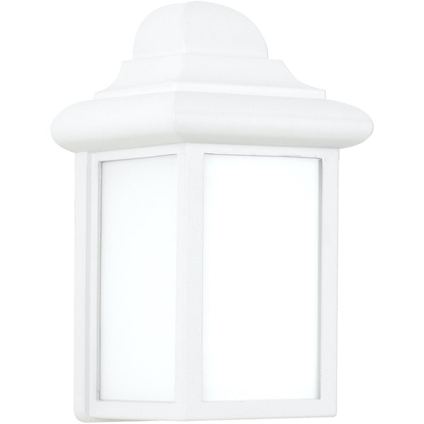 Mullberry Hill White Outdoor Wall Lantern - Outdoor Wall Sconce