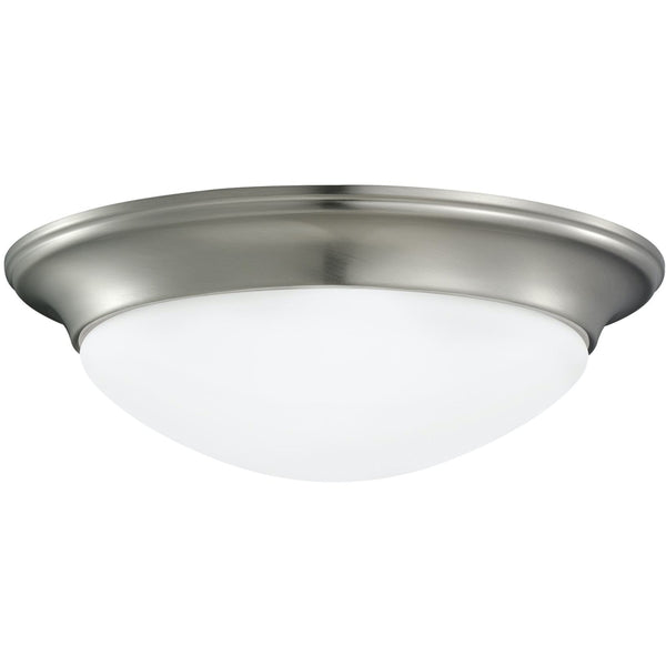 Nash Brushed Nickel LED Flush Mount - Flushmounts