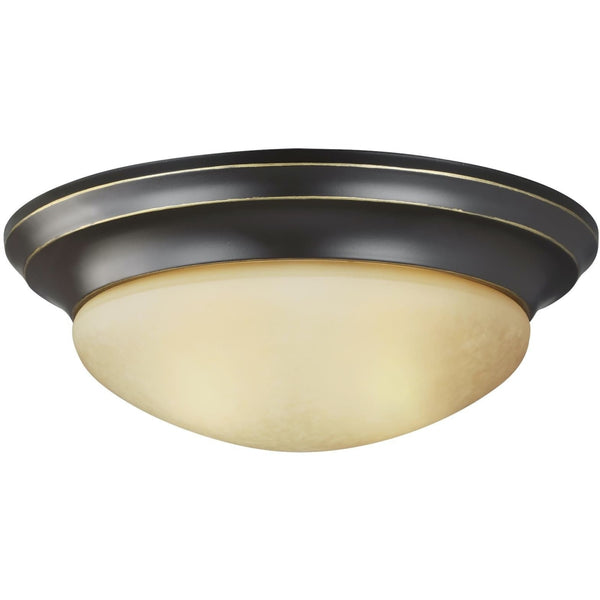 Nash Heirloom Bronze LED Flush Mount - Flushmounts
