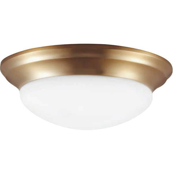 Nash Satin Bronze Flush Mount - Flushmounts