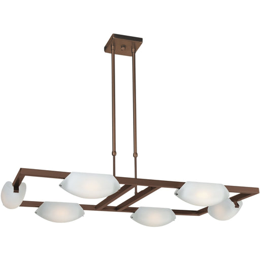 Nido Oil Rubbed Bronze LED Chandelier - Chandeliers