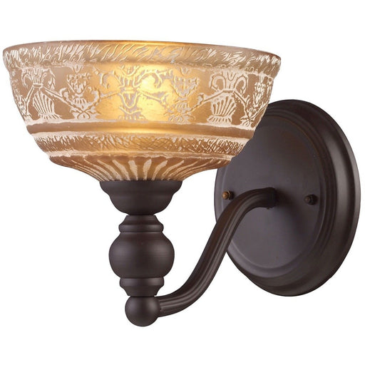 Norwich Oiled Bronze Wall Sconce - Wall Sconce