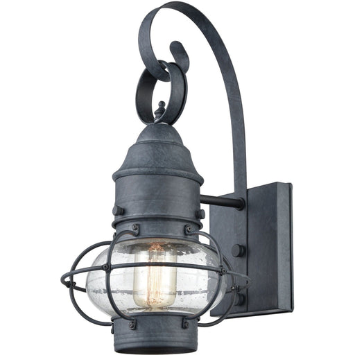 Onion Aged Zinc Outdoor Sconce - Outdoor Sconce