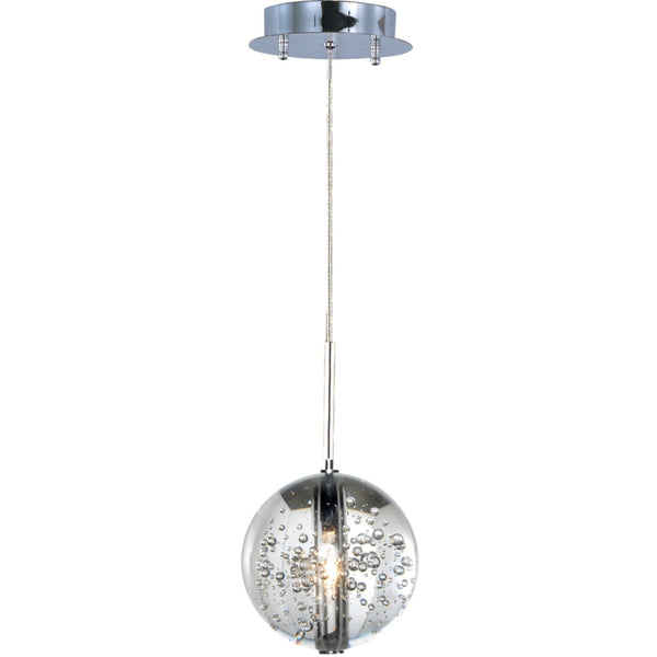 Orb Polished Chrome Single Pendant - Pendants