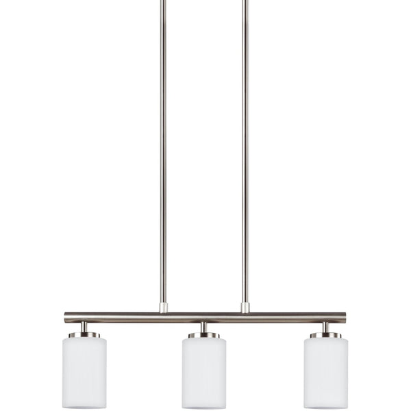 Oslo Brushed Nickel Pendant - Pendants