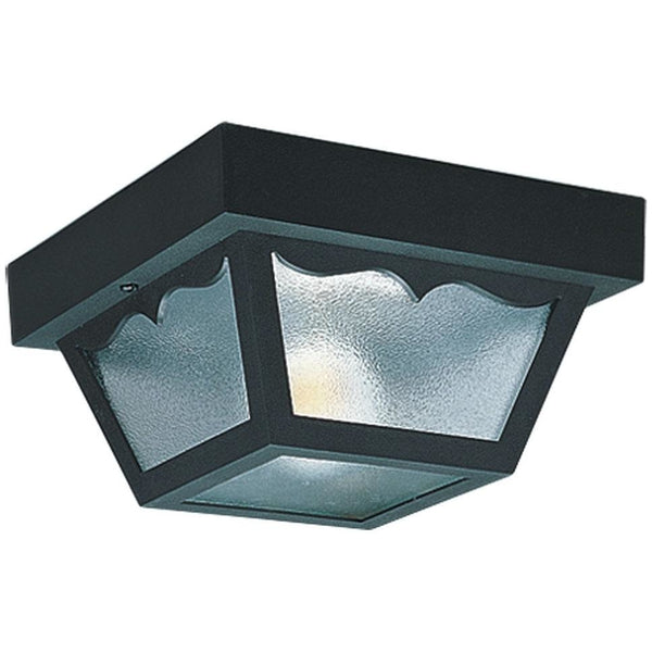 Outdoor Ceiling Clear Outdoor Flush Mount - Outdoor Flush Mounts