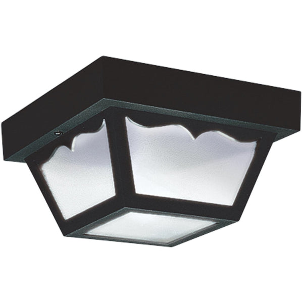 Outdoor Ceiling Clear LED Outdoor Flush Mount - Outdoor Flush Mounts