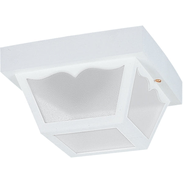Outdoor Ceiling White Outdoor Flush Mount - Outdoor Flush Mounts