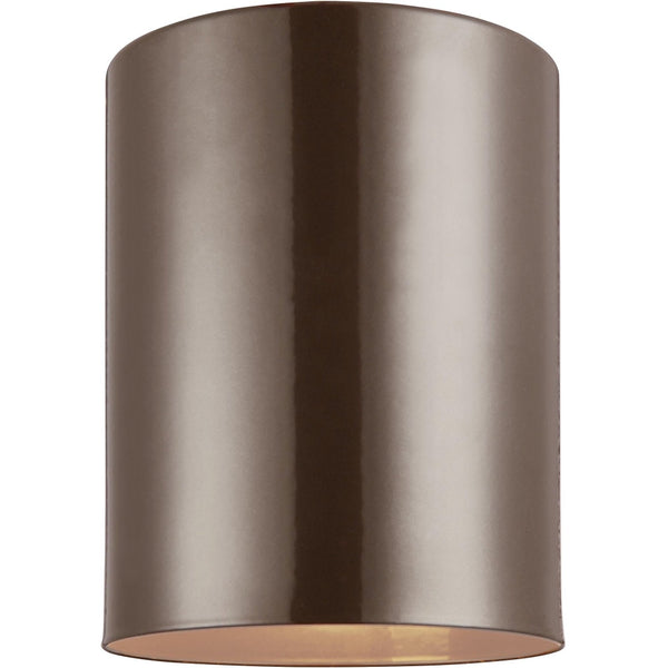 Outdoor Cylinders Bronze LED Outdoor Flush Mount - Outdoor Flush Mounts