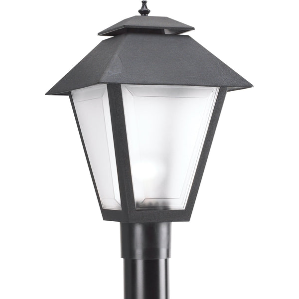 Polycarbonate Outdoor Black Outdoor Post Lantern - Outdoor Post Lantern