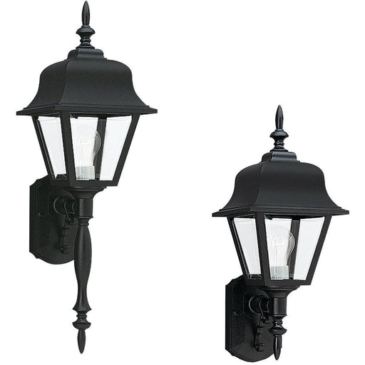 Polycarbonate Outdoor Black Outdoor Wall Lantern - Outdoor Wall Sconce