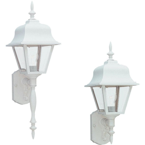 Polycarbonate Outdoor White Outdoor Wall Lantern - Outdoor Wall Sconce
