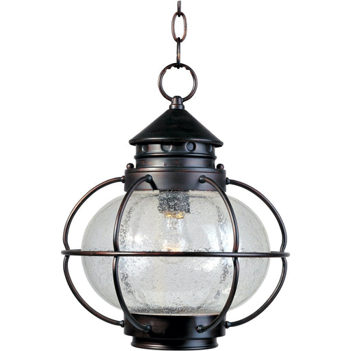 Portsmouth Oil Rubbed Bronze Outdoor Hanging Lantern - Outdoor Hanging Lantern