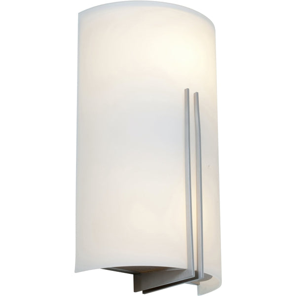 Prong Brushed Steel LED Wall Sconce - Wall Sconce