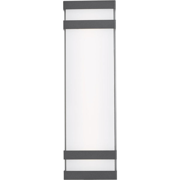 Proton Matte Black 8 Light LED Outdoor Wall Sconce - Outdoor Wall Sconces