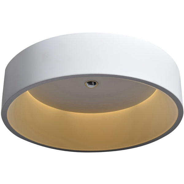 Radiant White LED Flush Mount - Flushmounts