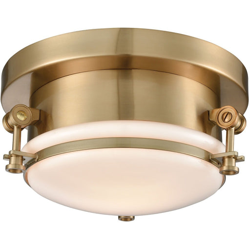 Riley Satin Brass Flush Mount - Flushmounts