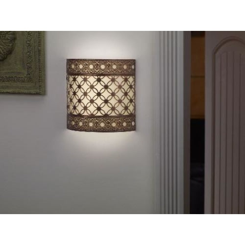 Roma Barrel Wireless Battery Operated Wall Sconce - Wireless Wall Sconce