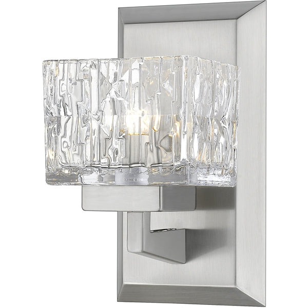Rubicon Brushed Nickel Wall Sconce - Wall Sconces