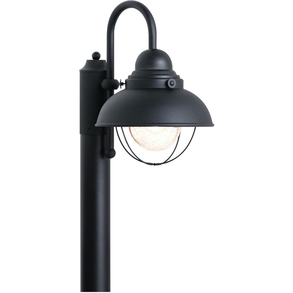 Sebring Black Outdoor Post Lantern - Outdoor Post Lantern