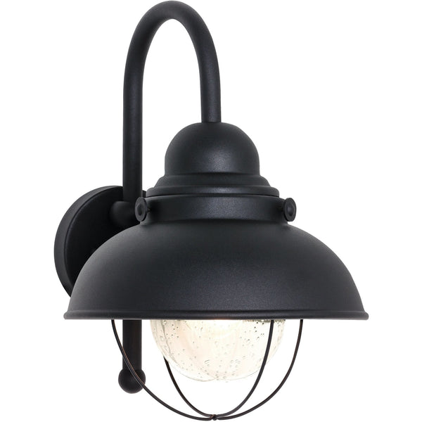 Sebring Black Outdoor Wall Lantern - Outdoor Wall Sconce