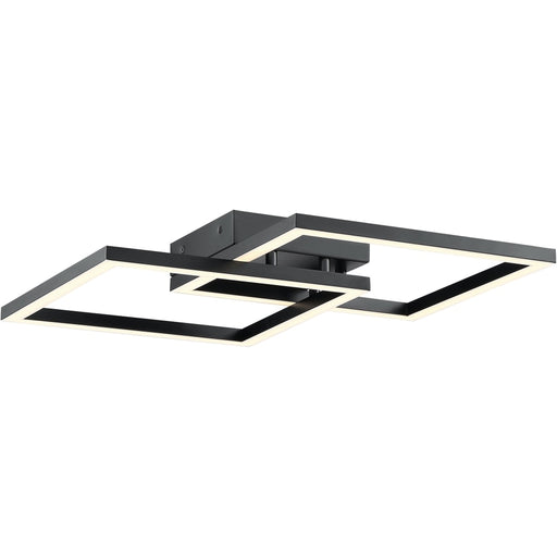 Squared Black LED Wall Sconce - Wall Sconce