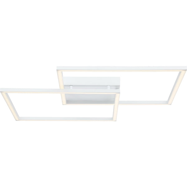 Squared White LED Wall Sconce - Wall Sconce