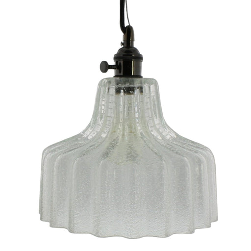 Stina Clear Glass 1 Light Pendant - Pendants