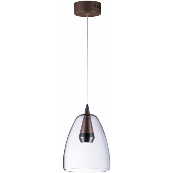 Sven Black / Coffee LED Single Pendant - Pendants