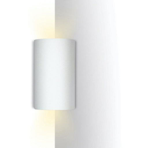 Tenos Bisque Corner Wall Sconce - Corner Wall Sconce